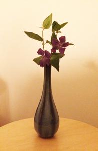 花瓶完成花活け縮小